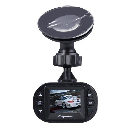 SUNDREAM® Porsche JA800 Auto-Recorde 720p HD-Super-Mini-Car Black Box/ Mini HD DVR Videorecorder In-Auto-Kamera-Recorder HD 720P 30FPS 120 Grad Weitwinkel 1.5 Zoll--Back/Schwarz