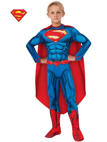 Superman Muscle Chest Kids Costume