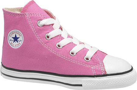 Converse Baby Girls' Infant Chuck Taylor All Star Hi Top - Pink - 4 Infant