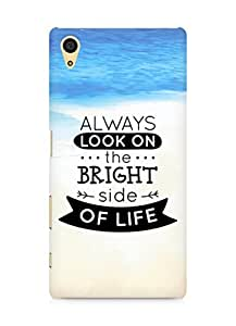 Amez Always look on the Bright Side of Life Back Cover For Sony Xperia Z5