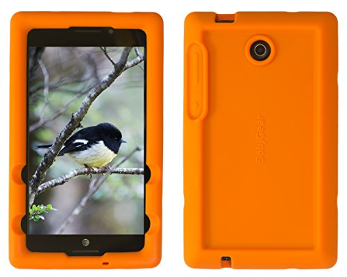 Click to buy Bobj for ASUS K00X, MeMO Pad 7 LTE ME375CL - BobjGear Protective Tablet Cover (Outrageous Orange) - From only $21.75