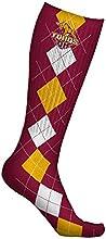 Cal State Dominguez Hills Toros Socks Argyle Design pair