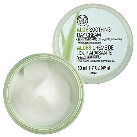 The Body Shop Aloe Soothing Day Cream Regular, 1.7 Ounce