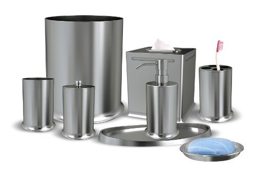 Nu Steel Newport Collection Bathroom Accessories Set ,8-Piece