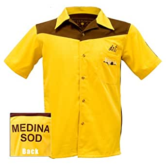 Authentic Replica Big Lebowski Bowling Shirt (Small)