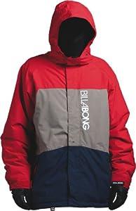 Billabong Men's Bolt Snow Jacket - Fire Red, Large