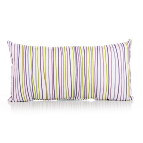 Sweet Potato Rectangle Stripe Pillow, Lulu front-77798