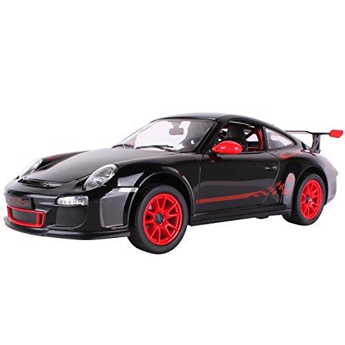 YESURPRISE Auto Modell Modellauto Rastar Spielauto Spielzeug Modelle R/C 1:14 Remote-Control Car Porsche GT3 42800 Black Car Model