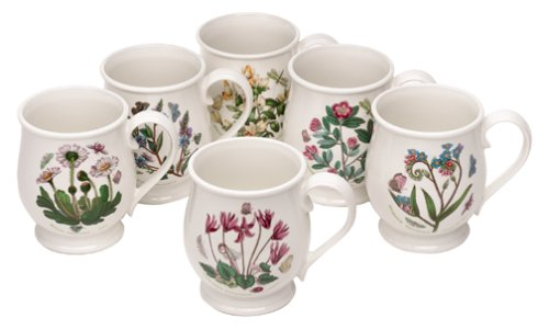 Portmeirion Botanic Garden Bristol Mug Set Of 6 Buy Gettars4