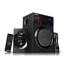 Truvison SE-2099BT 2.1 Multimedia Speaker System with Bluetooth USB FM AUX MMC Superior Sound Clarity