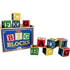 Schylling Large ABC Alphabet Blocks Toy
