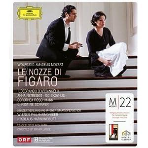 Mozart - Le Nozze Di Figaro Blu-ray Dvd 2008 by Deutsche Grammophon