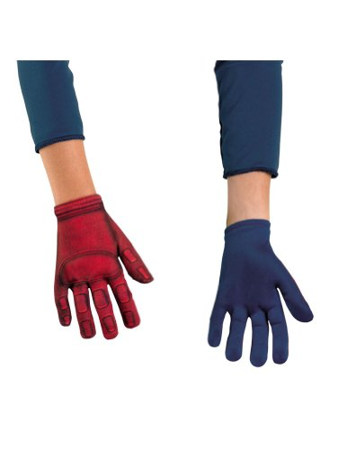Captain America Avenger Kids Gloves Costume Accessory