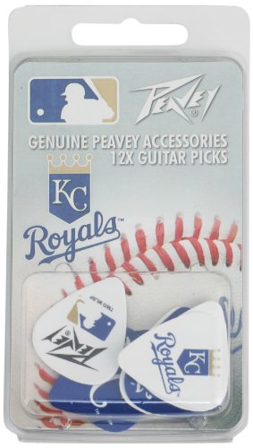 Kansas City Royals Mlb Guitar Pick Pack By Peavey