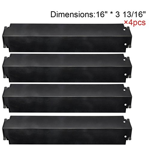 Lowest Price! The Red BBQ 93321 (4-pack) Porcelain Steel Heat Plate Replacement for Select Gas Grill...