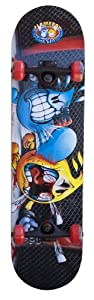 Buy Flameboy Wet Willy Rebel Series Cage Fighter Skateboard, Black by Flameboy Wet Willy