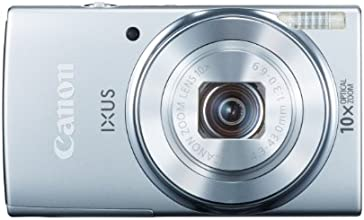 Canon IXUS 155 Digitalkamera (20 Megapixel, 10-fach opt. Zoom, 6,8 cm (2,6 Zoll) LCD-Display, HD-Ready) silber