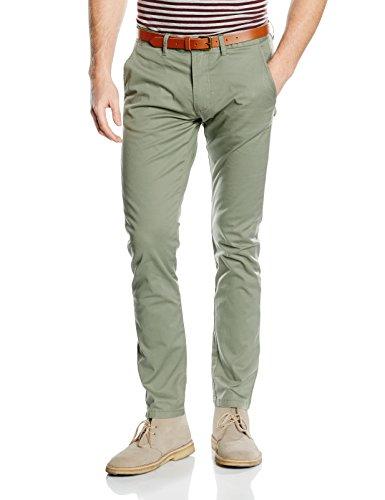 SELECTED HOMME - SHHYARD SLIM ST PANTS NOOS, pantaloni Uomo, Grün (Sea Spray), W33/L34 (Taglia produttore: 33)