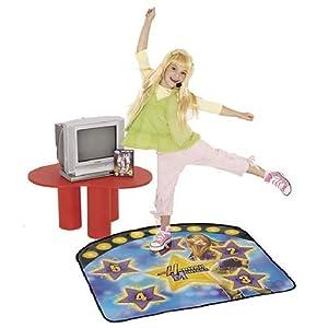 Hannah Montana Instructional DVD & Dance Mat Learn To Be A Popstar