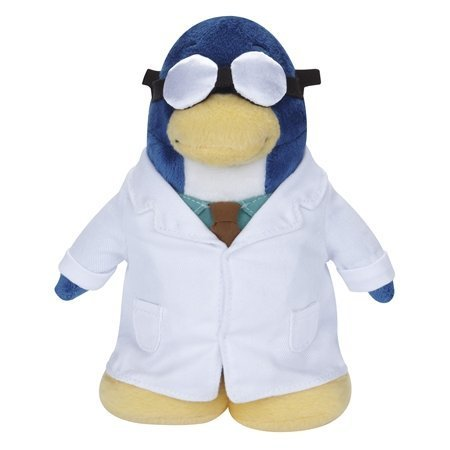 Buy Low Price Jakks Pacific Disney's Club Penguin Plush Figure – Series 11 – GARY THE GADGET GUY (Includes Coin with Code) (B004IFVYC6)