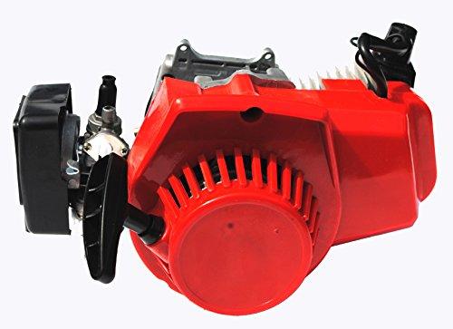 Sican RED 49cc 2 stroke Engine Motor For Mini Dirt Monkey Pocket ATV Quad Bike Go Kart (Motor Mini Quad compare prices)
