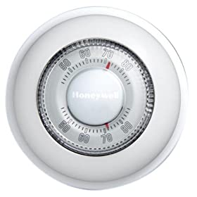 Honeywell CT87K The RoundHeat Only Manual Thermostat