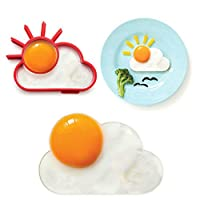 Breakfast Creative Silicone Cute Sun Cloud Egg Mold Fried Egg Mold Pancake Mold Kids Diy cooking tools Worldwide Sale