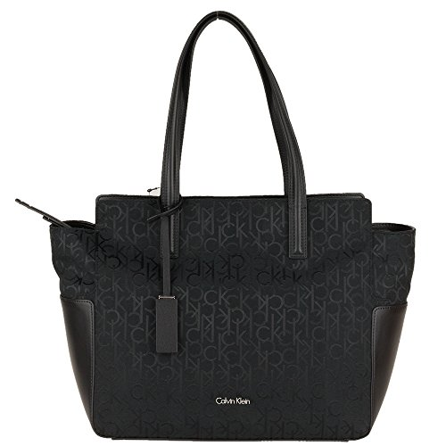 calvin-klein-womens-handbag-nina-logo-ew-tote-black