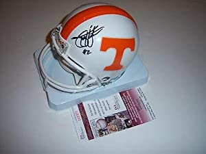 Todd Helton Tennessee Volunteers,rockies Jsa coa Signed Mini Helmet - Autographed MLB... by Sports+Memorabilia