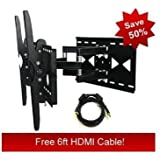 Sony Bravia KDL-52S5100 Compatible Heavy Duty Dual-Arm Cantilver Wall Mount **FREE HDMI CABLE**