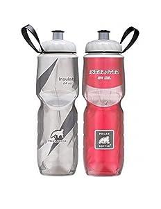 Polar Bottle (Black&Red Combo, 24- 2 Pack)