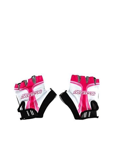 NALINI Guanti Farfalla [Bianco/Rosa]