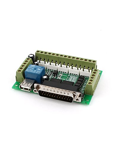 best deals mach3 cnc stepper motor driver adapter breakout board w usb cable budkoo