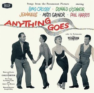 Anything Goes (1956 Film Soundtrack) by Cole Porter, Bing Crosand Donald O'Connor