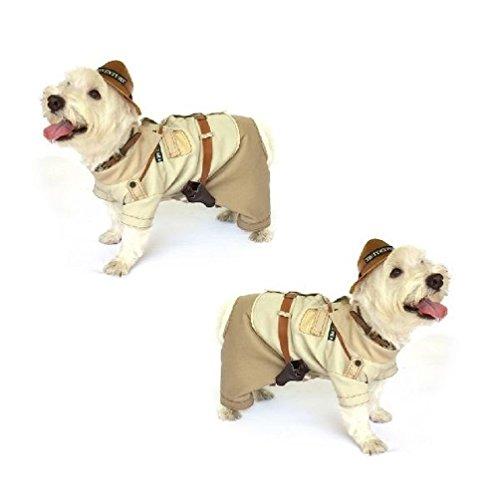 [Moondon Dog Costume - INDIANA BONES COSTUMES - Indiana Jones Adventure Dogs] (Link Dog Costumes)