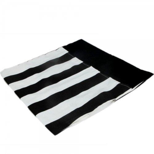 17X17 Stylish Black White Stripe Pillowcase Fashion Cushion Cover 13007360 front-498184
