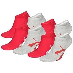 PUMA Unisex Sustainable Sneakers Sport Socken Sportsocken 8er Pack light grey melange 035 - 35/38