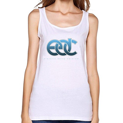 SUNRAIN Women's Electric Daisy Carnival EDC Logo 2016 Tank Top