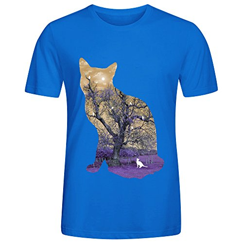 A Cats Life Ii Men T Shirts Blue (City Of Kokomo Jobs)