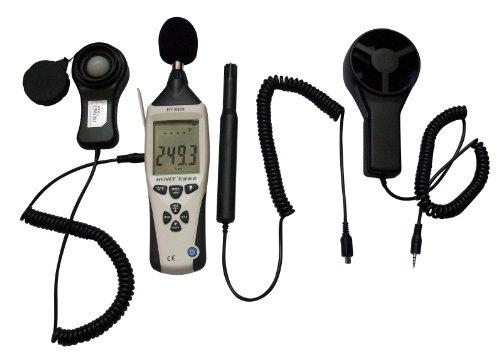 Sound Level Meter Light Meter Anemometer Humidity Meter Temperature Meter Enviromental 5 In 1