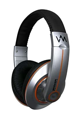 NEW VM Audio SRHP6 Stereo MP3/iPhone iPod Over Head On Ear DJ Headphones Orange