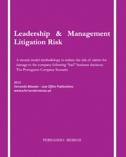 Leadership & Management Litigation Risk - A mental