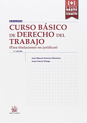 CURSO BASICO DE DERECHO DEL TRABAJO