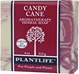 Candy Cane Aromatherapy Herbal Soap