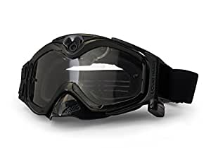 Liquid Image All-Sport Full HD Camera (5MP, 1280x720, 720p)Skiing Goggles, Snow, Action - Black