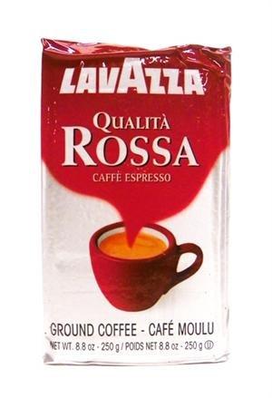 Lavazza Qualita Rossa, 8.8 Oz Brick, Ground