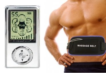 Black Friday Healthmateforever Hands Free Electronice Pulse Massagers Electrotherapy Devices+Multi Belt. Muscle Conditioning For Electrotherapy Pain Management. Light & Portable. The Unit Is Powered By Replaceable Rechargeable Lithium Battery. Free Illust