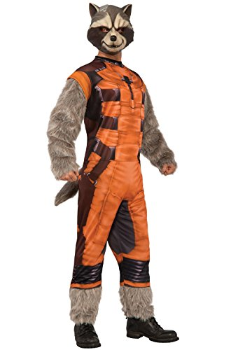 Mememall Fashion Guardians of the Galaxy Deluxe Rocket Raccoon Adult Costume
