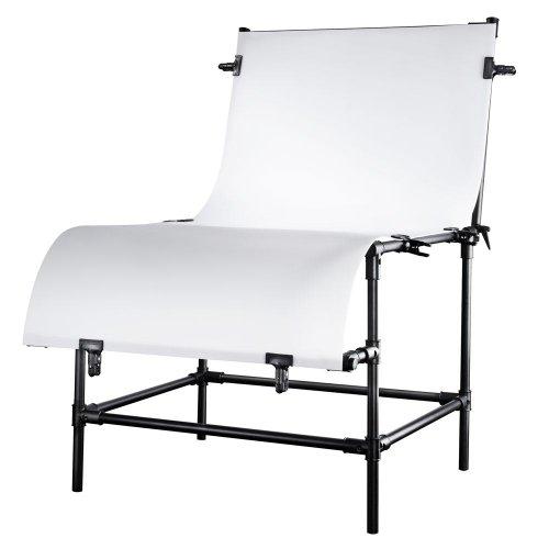 Table de prise de vue walimex basic L, hauteur de prise de vue 80 cm