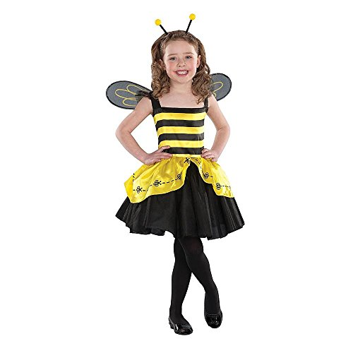 Girls' Halloween Bumble Bee Costume Size Small 2-4